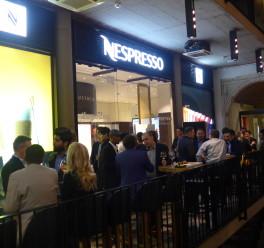 Nagłośnienie dla Nespresso Boutique Kraków