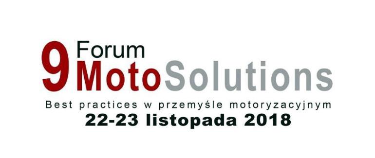 Dziewiąta edycja Forum MotoSolutions