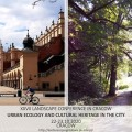 Urban Ecology and Cultural Heritage in the City